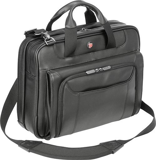"Targus 14.1"" Leather Corporate Traveler Laptop Case"