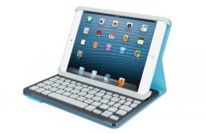 Logitech Folio Keyboard for iPad Mini (Blue)