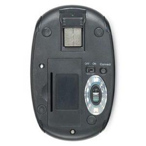 Verbatim Nano Wireless Notebook Laser Mouse - Mercury (Ruby)