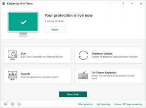Kaspersky Anti-Virus 4 Devices x 2 - 2019 Retail Pack