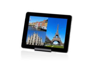 Just Mobile Slide Designer iPad Traveler Stand