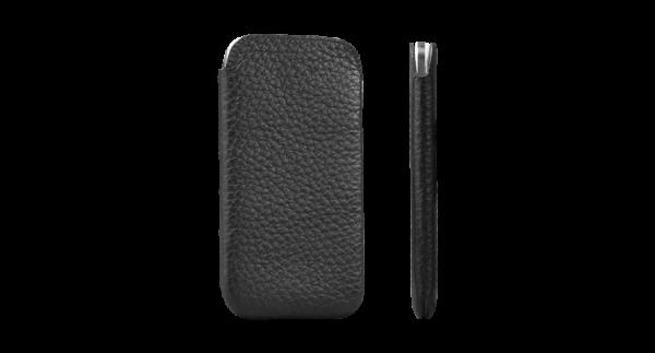 Sena Ultra Slim Leather Pouch for Samsung Galaxy S4 - Black