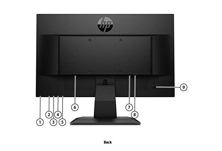 "Image result for LED HP 19.5"" P204V (HDMI) png"