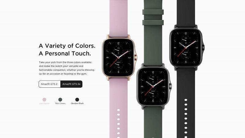 Xiaomi Amazfit GTS 2e Smart Watch Always-on AMOLED Display buy online in pakistan